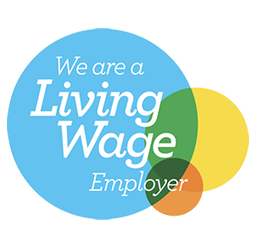 Ductwork Compliance We Are Living Wage logo