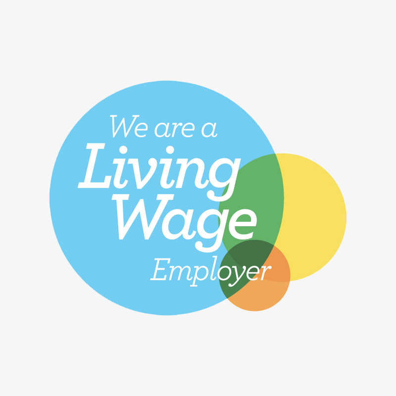 We Are Living Wage Logo